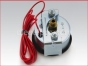 Engine gauges,Mechanical with Alarm Switch,Engine oil pressure gauge 0 to 100 PSI,20P100 P,Indicador Presion de aceite del motor 0 a 100 PSI