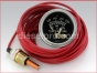 Engine gauges,Mechanical with Alarm Switch,switchgage,Engine water temperature gauge,20 feet,20T250-20,Reloj,Temperatura,agua 20 pies