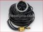 Engine gauges,Engine water temperature gauge 45 feet,20BTG250¬-45 P, Reloj Temperatura de agua 45 pies