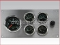 Marine Gauge Panel,Complete 24 volts gauge set,engine starter botton,stainless steel panel,Heavy Duty,PANEL24VSE,Tach with Sender