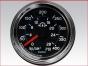 Engine gauges,Transmission oil pressure gauge,0 to 400 PSI,Mechanical, 25025177,Reloj,indicador,Presion de aceite de la transmision,0 a 400 PSI,Mecanico