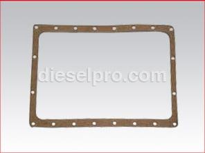 Oil pan gasket for Detroit Diesel engine 3-53