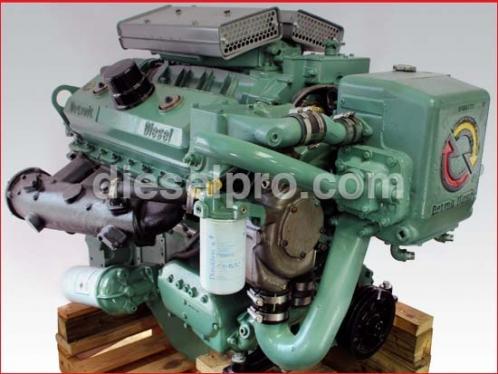 Motor Detroit Diesel 8V92 marino natural - reconstruido