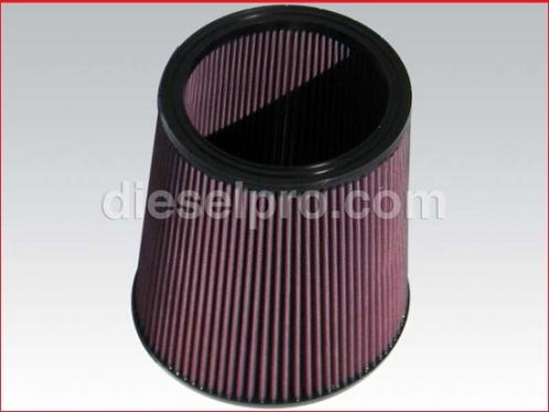 Airsep filter for Detroit Diesel Engine, tappered 9 X 9