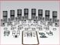 Detroit Diesel,Inframe Kits,Rebuilding kit 12V71 cross_head natural,2 piece piston,IFK12V71CH,Kit de reparacion 12V71 cross_head natural,piston de 2 piezas