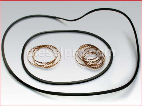 Forward plate seal kit for Allison M and MH