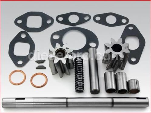 Oil pump repair kit for Detroit Diesel engine 6-71