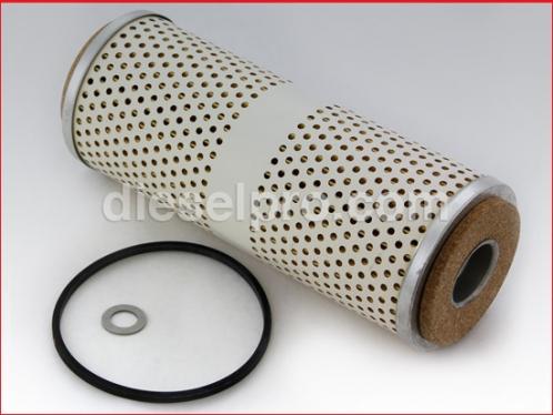 Fuel filter for Detroit Diesel engine - Secondary.