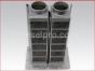 Detroit Diesel marine engine 12V71,Rebuilt,Marine heat exchanger core,U8532343,Radiador marino