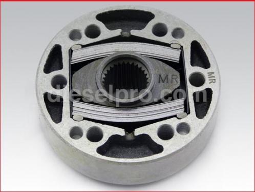 Blower coupling thick 29 spline shaft for Detroit Diesel engine