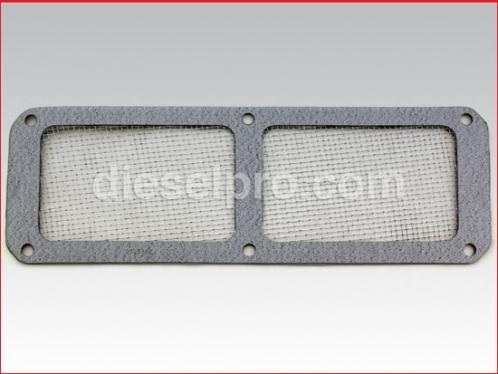Blower gasket screen