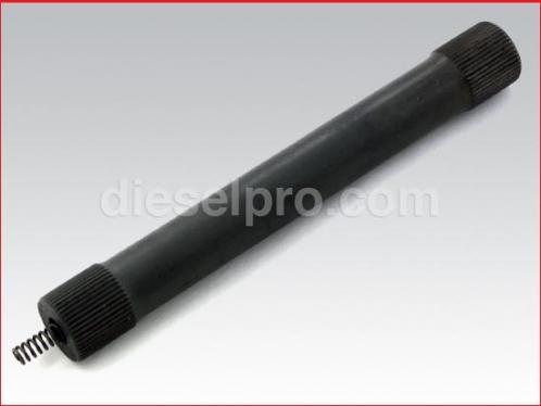 Blower shaft for Detroit Diesel - 6.67 inch long, Thin 48 spline.