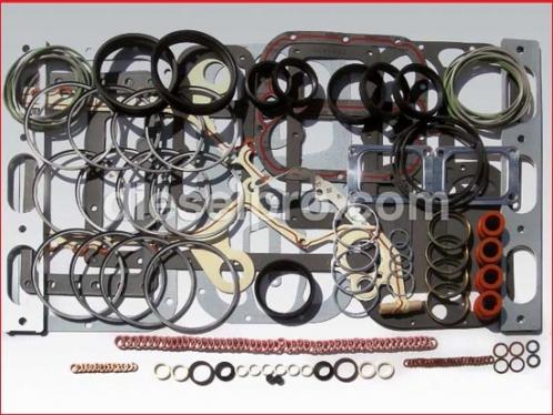 Overhaul gasket kit for Detroit Diesel engine 12V92