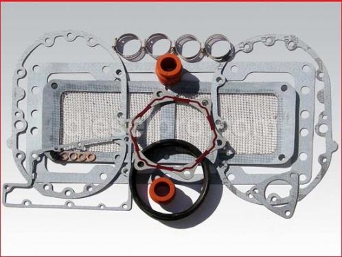 Blower installation gasket kit for Detroit Diesel natural engines