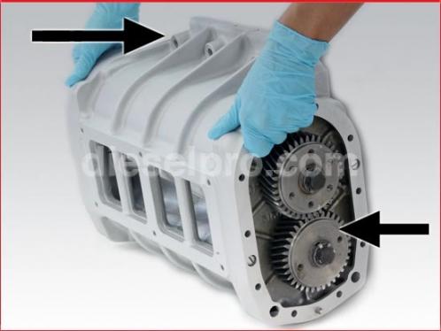 Blower for Detroit Diesel engine 6-71 LEFT hand - Rebuilt