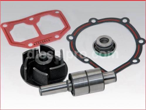Repair kit for Detroit Diesel fresh water pump, right hand rotation