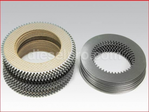 Overhaul plate kit for Twin Disc marine gear MG5111, MG5111A