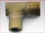 Detroit Diesel engine,Elbow 90 degrees,1 inche thread marine manifold,8924187B, Codo 90 grados,con rosca de 1 pulgada para manifold de escape Marino