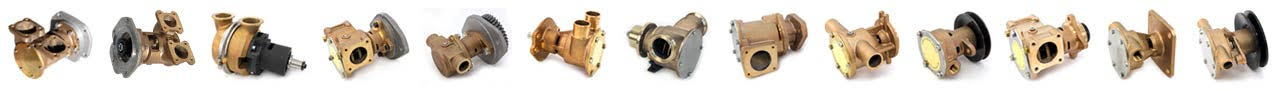 marine water pumps, detroit diesel, cummins, caterpillar, john deere